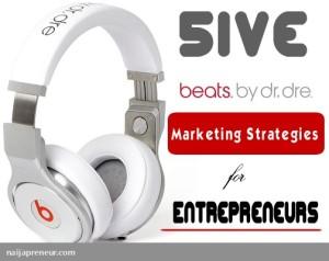 beats by dre marketing strategies
