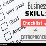 Essential Business Skills Checklist For Every Entrepreneur