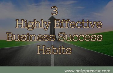 Business Success Habits