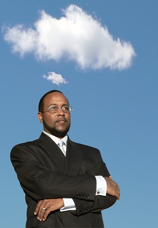 african american business man in deep thought 2