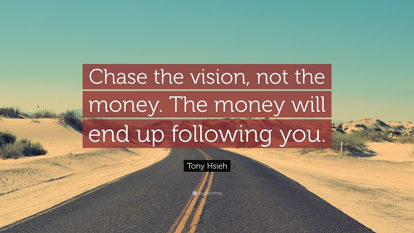 entrepreneurial vision quote