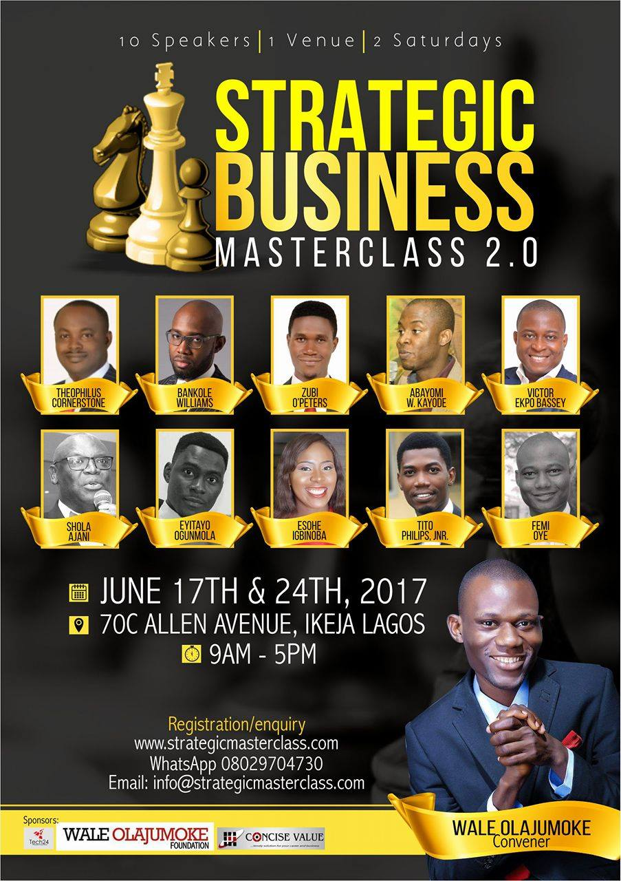 Strategic Business Masterclass 2.0